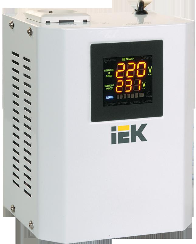 Стабилизатор Boiler 0,5 кВА однофазный