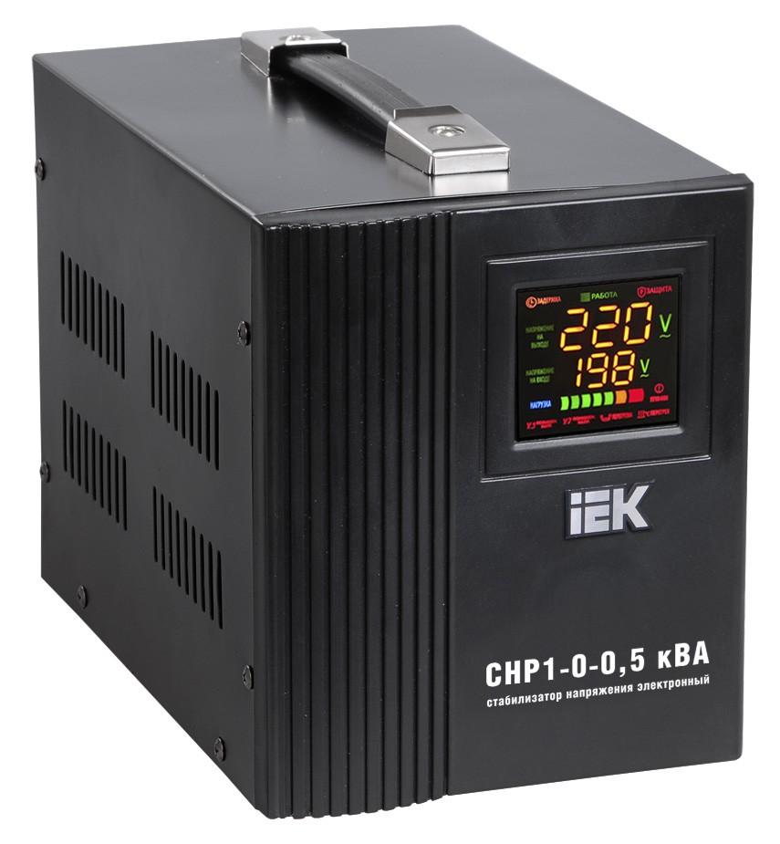 Стабилизатор Home СНР1-0- 0,5 кВА однофазный