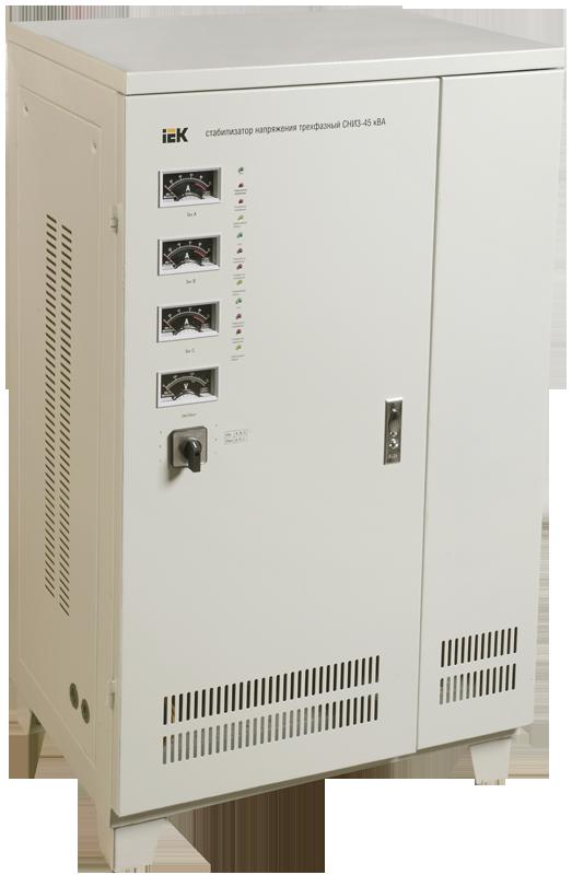 Стабилизатор СНИ 3/380 45 кВА трёхфазный