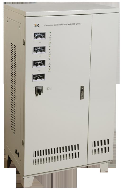 Стабилизатор СНИ 3/380 60 кВА трёхфазный